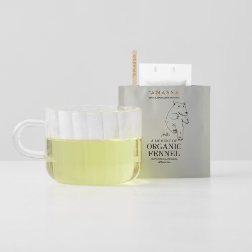 Organic Fennel Enveloped tea bags