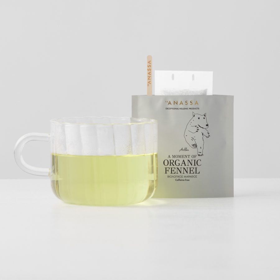 Organic Fennel Enveloped tea bags