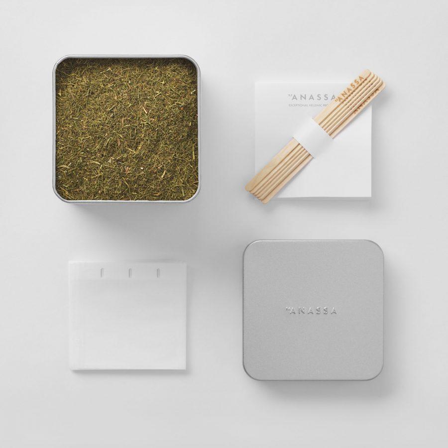 Organic Fennel Tin box