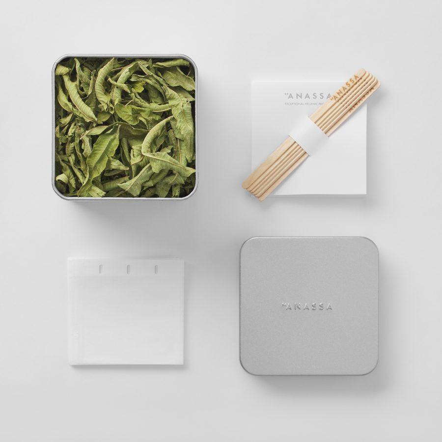 Organic Lemon Verbena Tin box