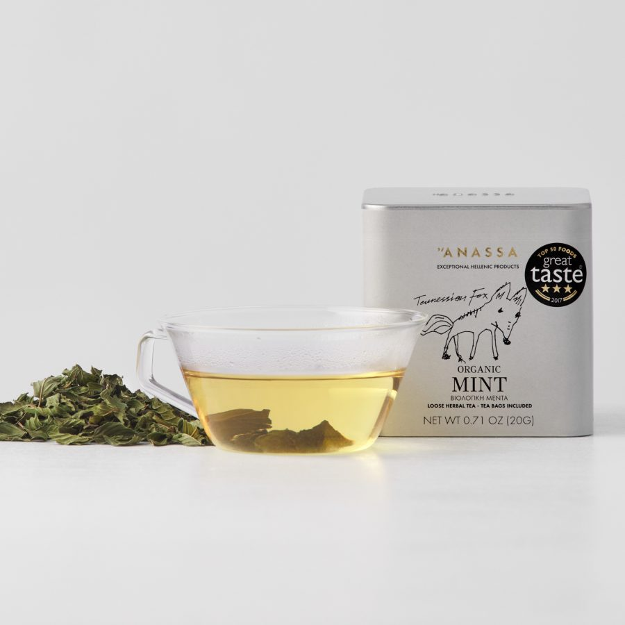 Organic Mint Tin box
