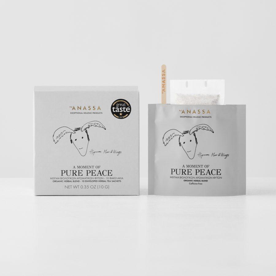 Pure Peace Enveloped tea bags